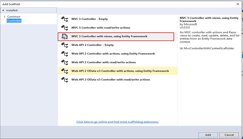 Entity Framework 6 Code first using MVC 5 - Gyanendu