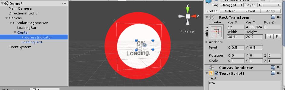 Radial/ Circular Progress Bar in unity3d - Gyanendu