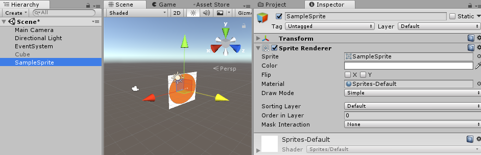 Difference between Texture and Sprite in Unity - Gyanendu Shekhar's Blog