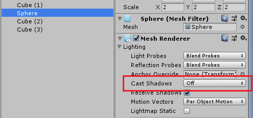 Create fake shadow using blob shadow projector: Unity