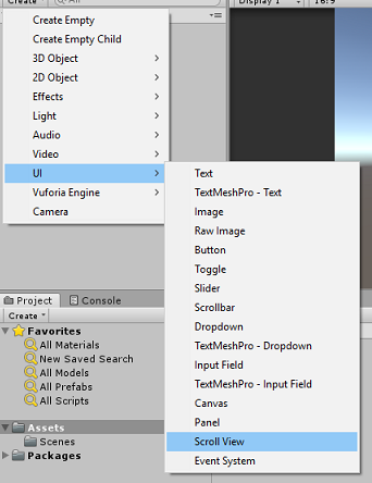 Scroll view with dynamic content size: Unity tutorial